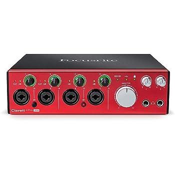 Focusrite Scarlett 18i8 2nd Gen - Interfaz de Audio: Amazon.es: Instrumentos musicales
