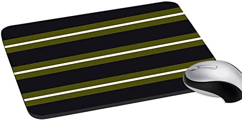 RADANYA Striped Digitally Printed Rubber Mouse Pad Mouse Pad Mat Anti Skid Non Slip Mouse Pad Gift Item