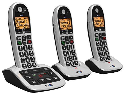 BT bt4600Big botón Avanzada Call Blocker hogar teléfono con contestador automático (Certificado Reformado)