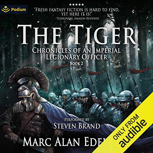 The Tiger Audiobook By Marc Alan Edelheit cover art