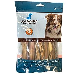 4-6 Inch Variety Bully Sticks (15 pc avg – 10 oz) – Premium Dog Chews – All Natural Rawhide Alternative – Long Lasting Dog Treats – 100% Beef – Promotes Canine Dental Health
