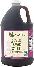 Kevala Organic Tamari Sauce 1 Gallon (Reduced Sodium) (Gluten Free)