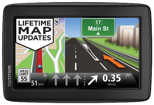 TomTom Incorporated 1EN5.019.13 TomTom VIA 1505M World Traveler Edition 5-Inch Portable Touchscreen Car GPS Navigation Device - Lifetime US, Canada, Mexico, and Europe Maps