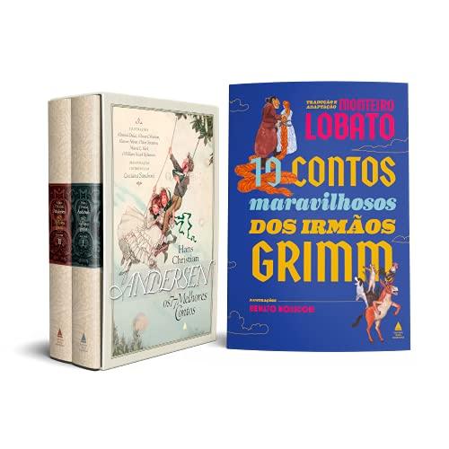 Box Melhores contos de Andersen + Contos de Grimm