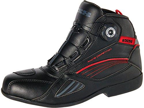 IXS Motorradschuhe Sharky, Farbe schwarz, Größe 43