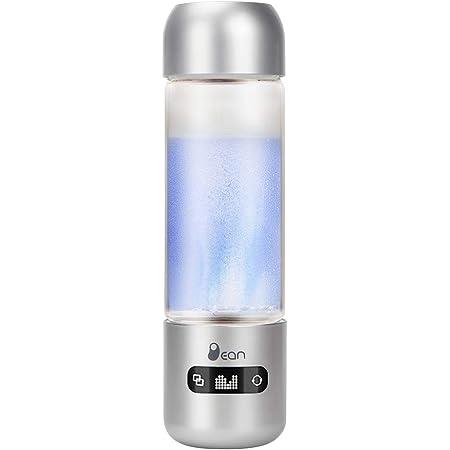 MEILYLA 水素水生成器 携帯式 水素水ボトル 高濃度水素水生成器1100ppb 3分生成 400ML還元水生成器 タッチスイッチ式 USB充電式 いつでも どこでも 飲める 美容 健康 佐川急便発送