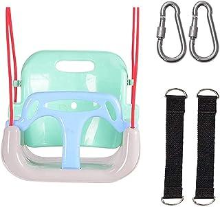 3 in 1 Kids Swing Seat, Secure Swing Chair Infants To Teens High Back Full Bucket Swing Seat Detachable Safety Swing Seat ...