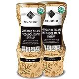 Med Cuisine Organic Jarabe De Dátiles (350GR X 2) - 100% Puro Y Natural Sin Azúcar - Jarabe De Café Vegano Suitable Para Paleo y Keto - Sin OGM y Gluten (2 paquete)