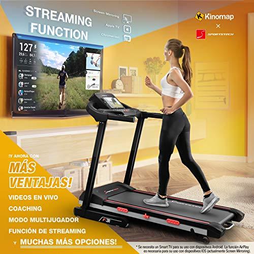 Cinta de correr plegable Sportstech F26
