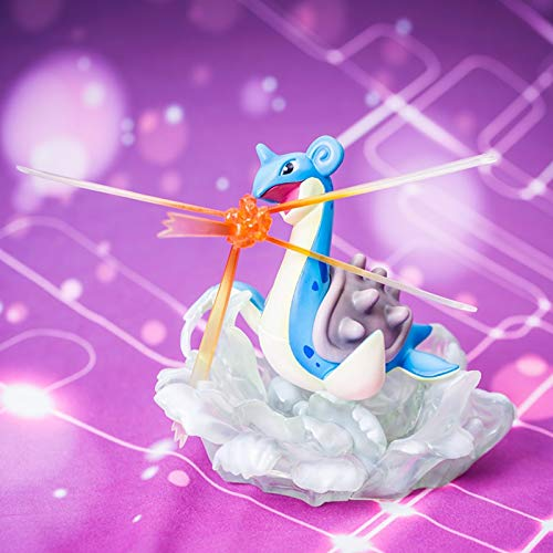 Jingtaohailang Spielzeug Statue Pokemon Spielzeug Modell Elf Poco Traum Cartoon Charakter Sammlung Souvenir GK Drachen 8 cm