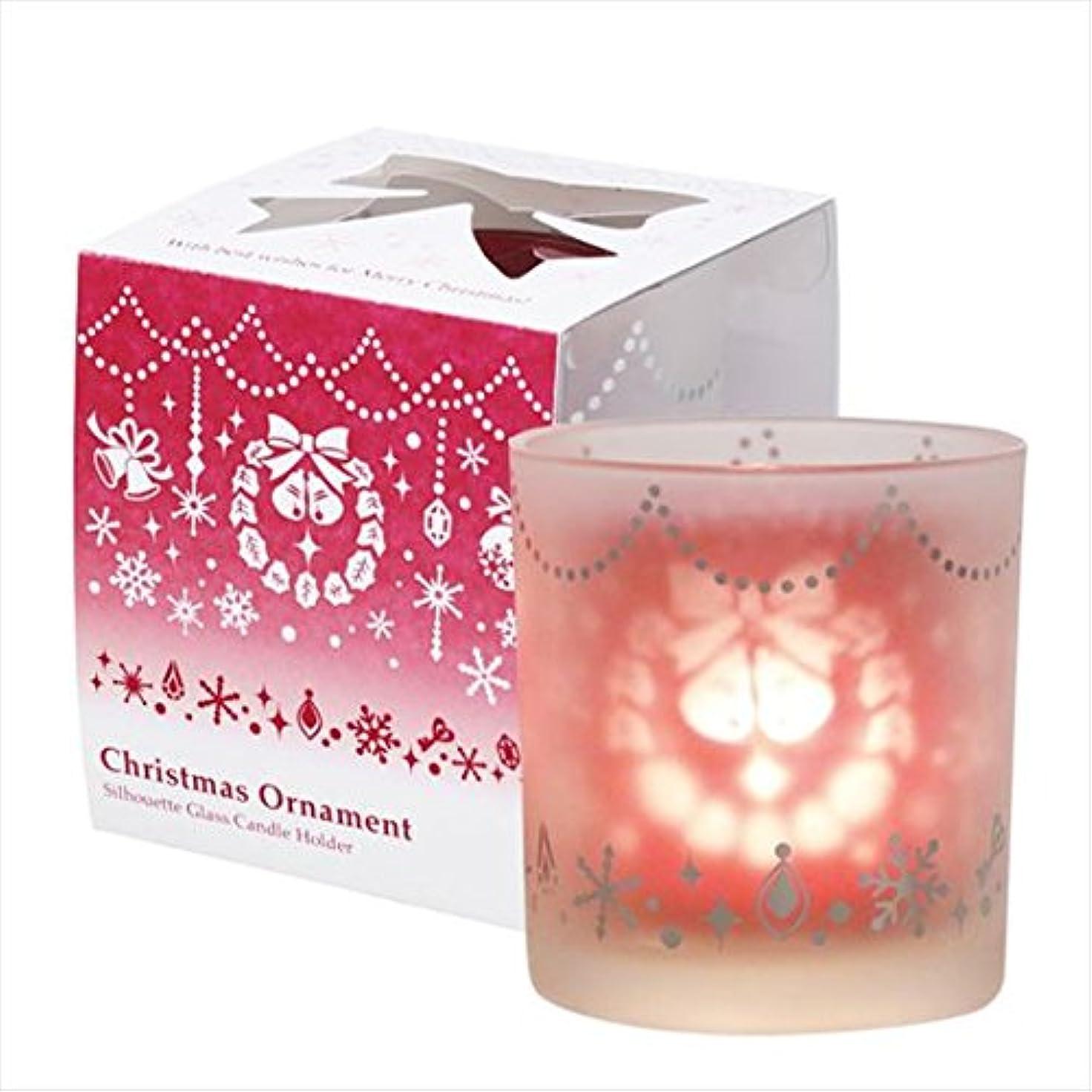 全能どんよりした抹消カメヤマキャンドル(kameyama candle) クリスマスオーナメント