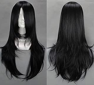 Sunny-business Anime Long Black Orochimaru Byakuya Kuchiki of Cosplay Wig
