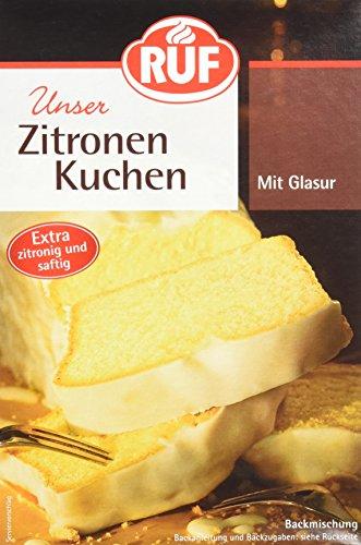 RUF Zitronenkuchen Backmischung, 8er Pack (8 x 500 g Packung)