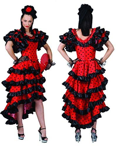 Spanierin Carmen Kostüm Damen Gr. 40 42