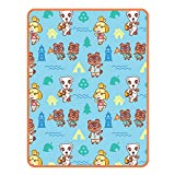 Franco Kids Bedding Super Soft Plush Throw Blanket, 46' x 60', Animal Crossing
