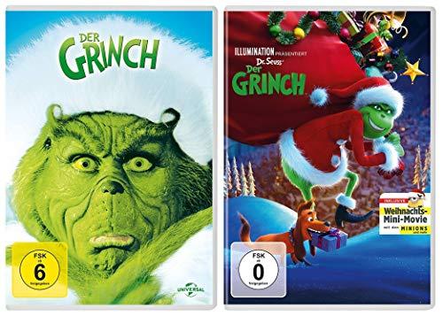 Der Grinch + Der Grinch als Animationsfilm im Set (2 DVDs)