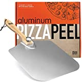 OUII Aluminum Pizza Peel 12''x14'' Metal Pizza Spatula Long Handle – Safe Indoor and Outdoor Pizza...