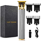 Electric Pro Hair Clippers,Cordless Rechargeable Grooming Kits, T-Shaped Trimmer, Modification, Waterproof, Cordless, Close