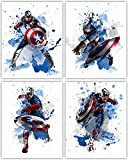 Captain America Wall Decor Collection – The First Avenger