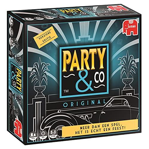 Party & Co. Original Adultos - Juego de tablero (Adultos, 45 min, Cualquier género, 14 año(s), Interior, Países Bajos)