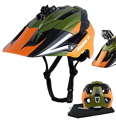 SUNRIMOON Mountain Bike Helmet for Adults, MTB...
