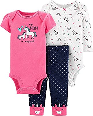 Carter's 3-Piece Unicorn Little Character Set (Newborn)