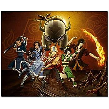 Doppelganger33 LTD Avatar The Last Airbender Giant Wall Art Print Poster B711