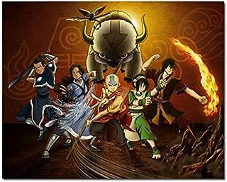 Tomorrow sunny New Avatar The Last Airbender Cartoon Anime Art Silk Poster 24x36