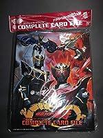 仮面ライダー 龍騎 コンプリートカードファイル ラスト