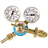 STKUSA Welding Nitrogen Regulator with Pressure Gauge CGA-580 Inlet Connection and 9/16-Inch Outlet Connection (55092)