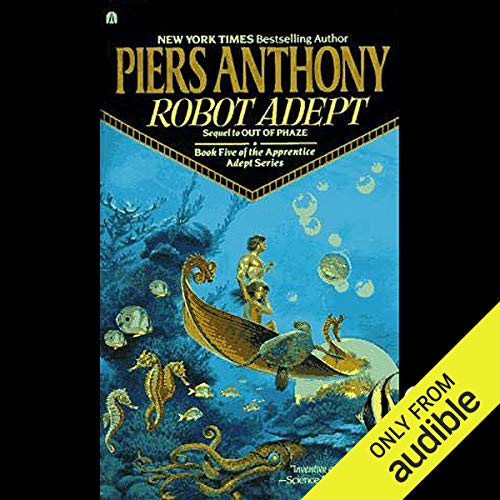 Robot Adept audiobook cover art