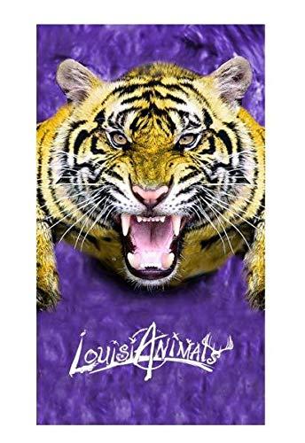 LouisiAnimals Tiger Neck Gaiter - Made in U.S.A.