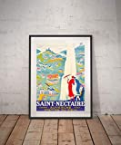 Erti567an Saint Nectaire Saint Nectaire Reise Poster Saint