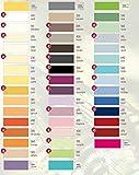 Estella Zwirn Jersey Spannbetttuch, Spannbettlaken in allen Größen und vielen Farben- Zwirn Jersey Spannbetttuch + GRATIS 1x Schal 90-120 x 200-220 cm, Farbe 100-weiss