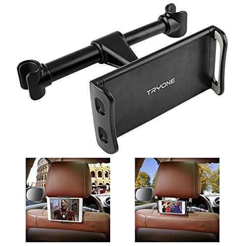 Tryone Car Headrest Holder, Tablet Headrest Mount Compatible with...
