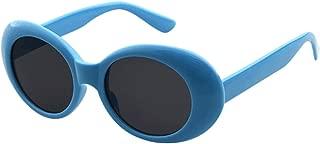 Smdoxi Sunglasses Rapper Candy Retro Acetate Frame Clout Goggles Kurt Cobain Sunglasses (M)
