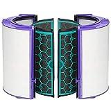 Sweet D Purificador de Aire Dyson HP04 Pure CoolTM Filtro HEPA de Vidrio y Filtro Interior de carbón Activado Dyson TP04 DP04 Filtro