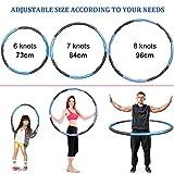 Zoom IMG-2 kovebble hula hoop per adulti