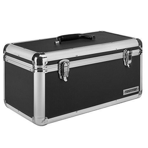 anndora Werkzeugkoffer 28 Liter - XL Werkzeugkasten Werkzeugbox - schwarz