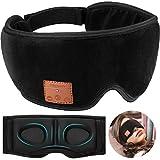 Contorno 3D, maschera per il sonno con eliminazione del rumore 3 in 1: queste maschere per cuffie bluetooth progettate appositamente per te, presentano un'area più ampia, una copertura migliorata per l'ombreggiatura morbida con riempimento del naso e...