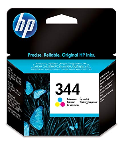 HP 344 C9363EE, Tricolor, Cartucho de Tinta Original, compatible con impresoras de inyección de tinta HP Deskjet, HP Officejet, HP Photosmart, HP PSC