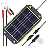 Sun Energise Waterproof 12V 10W Solar Battery Charger Pro - Built-in MPPT Charge Controller +...