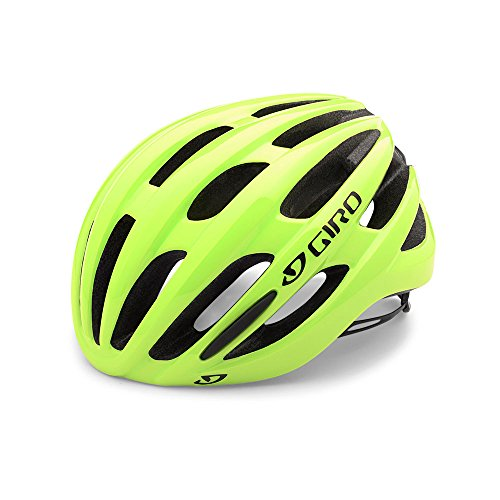 Giro Foray Road Cycling Helmet Highlight Yellow Large (59-63 cm)