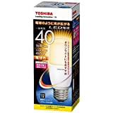 東芝ライテック LED電球 一般電球形 T形 全方向タイプ 断熱材施工器具対応 40W 電球色 LDT6L-G/S/40W 口金直径26mm