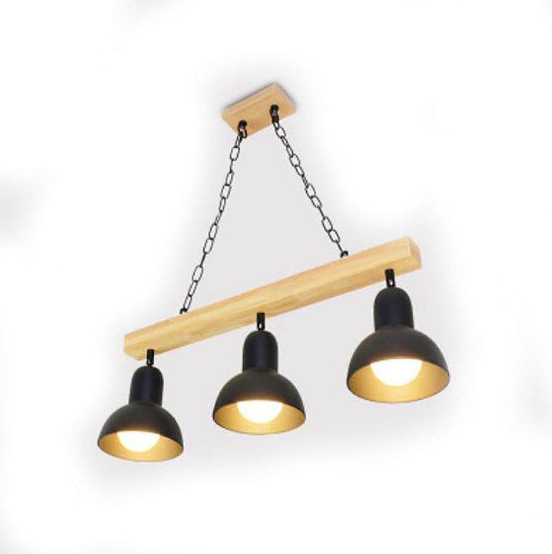 Kronleuchter, moderner minimalistischer hlzerner Leuchter, nordisches Artrestaurant, dekorativer Leuchter (Farbe   B-S)