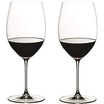 [正規品] RIEDEL リーデル 赤ワイン グラス ペアセット リーデル・ヴェリタス カベルネ/メルロー 625ml 6449/0