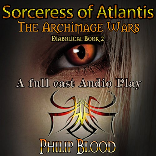 Sorceress of Atlantis audiobook cover art