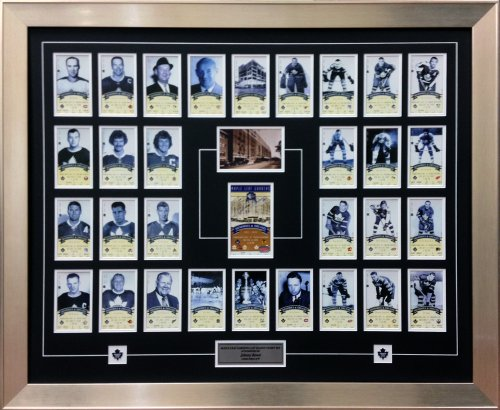 Autograph Authentic Sports fan NHL Toronto Maple Leaf Gardens Last ticket set – firmato Johnny Bower – Ltd ed di 99