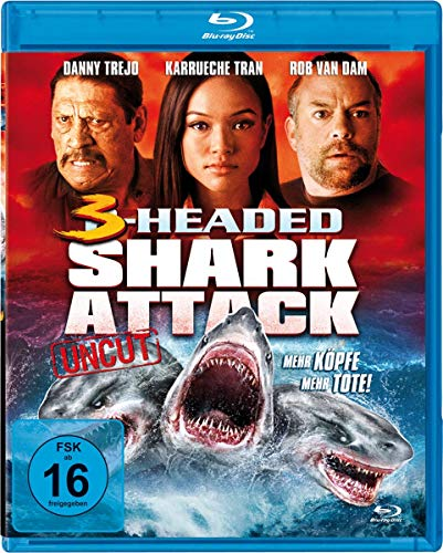 3-Headed Shark Attack [Blu-ray]