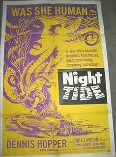 NIGHT TIDE / ORIGINAL ONE-SHEET U.S. MOVIE POSTER (DENNIS HOPPER)